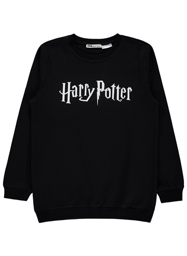 Harry Potter Erkek Çocuk Sweatshirt  Siyah